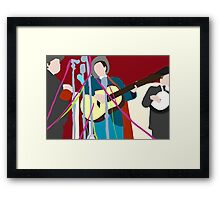 The worlds best band Framed Print