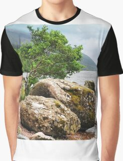 On the shores of Loch Ness Graphic T-Shirt