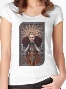 Commander Tarot Women's Fitted Scoop T-Shirt