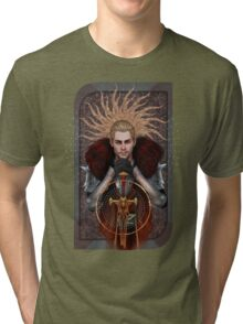 Commander Tarot Tri-blend T-Shirt
