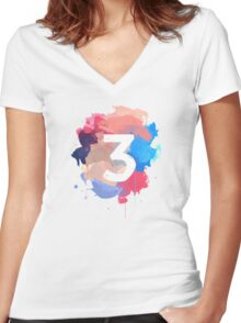 Coloring Book Women's Fitted V-Neck T-Shirt