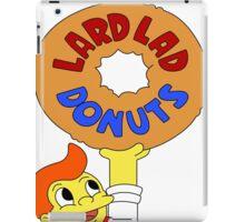 The Simpsons - Lard Lad Donuts T-Shirt iPad Case/Skin