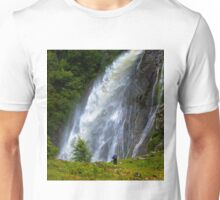 The Aber Falls in Wales T-Shirt
