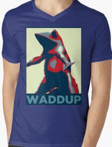 Boi : Waddup Mens V-Neck T-Shirt