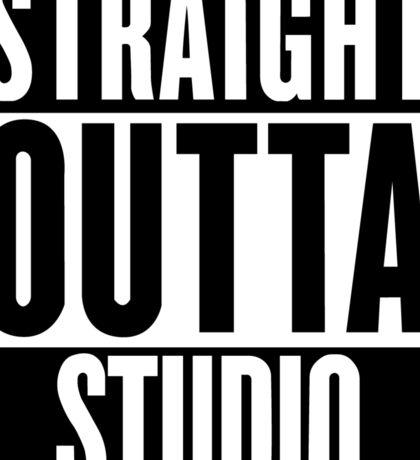 Straight Outta Studio  Sticker