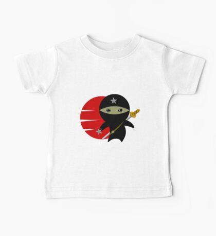 Ninja Star - Darker Version Baby Tee