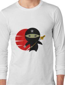 Ninja Star - Darker Version Long Sleeve T-Shirt