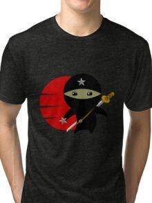 Ninja Star - Darker Version Tri-blend T-Shirt