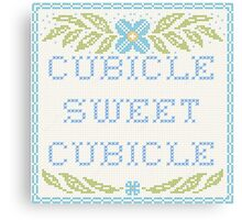 Cubicle Sweet Cubicle Canvas Print