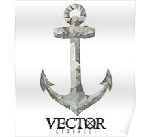 Anchor - VECTØR Graphics Poster