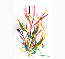 Unknown Flower 3 - Small Abstract Landscape, watercolor, ink & pencil on paper Unisex T-Shirt