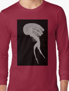 0056 - Brush and Ink - Matchstick Long Sleeve T-Shirt