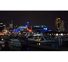 Melbourne at night - Docklands [r] Photographic Print