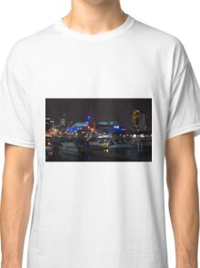 Melbourne at night - Docklands [r] Classic T-Shirt