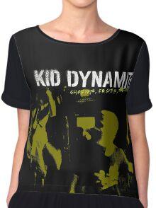 Kid Dynamite T-Shirt Chiffon Top