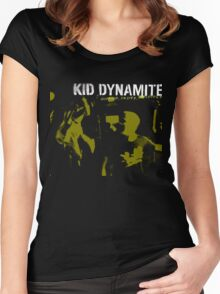 Kid Dynamite T-Shirt Women's Fitted Scoop T-Shirt