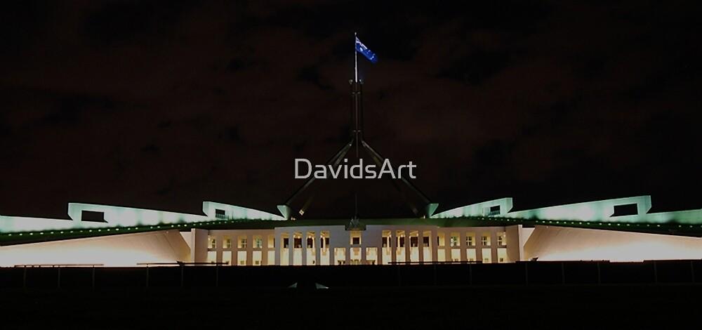 1146 Parliament House, Canberra by DavidsArt