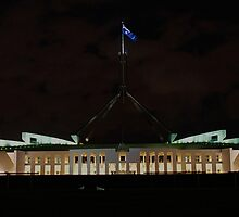 Parliament House, Canberra [r] by DavidsArt