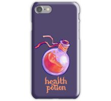 health potion - dungeons & dragons / mmorpg iPhone Case/Skin