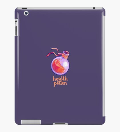 health potion - dungeons & dragons / mmorpg iPad Case/Skin