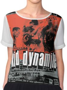 Kid Dynamite T-Shirt Chiffon Top