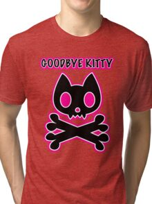 Goodbye Kitty Tri-blend T-Shirt