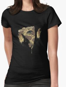 P1ZZA FACE Womens Fitted T-Shirt