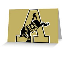 Army Mules Logo Greeting Card