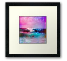 (Light Black_) Framed Print