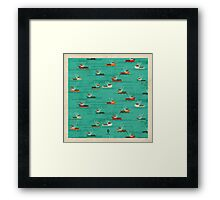 Fishing Trawlers on The Thames Estuary Framed Print