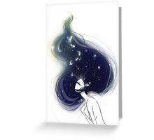 silent stars Greeting Card