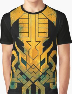 Golden Kraken Sigil Graphic T-Shirt
