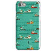 Fishing Trawlers on The Thames Estuary iPhone Case/Skin
