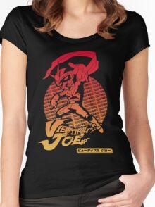 Joe the Hero Women's Fitted Scoop T-Shirt