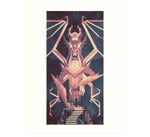 Luminescent Dragon Art Print