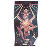 Luminescent Dragon Poster