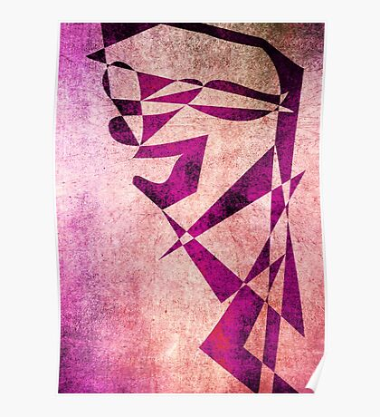 Thief of Hearts - Abstract Vector Art Poster