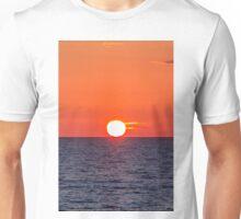 Orange sunset II Unisex T-Shirt