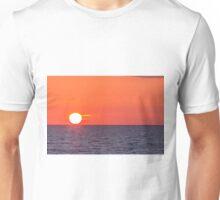 Orange sunset Unisex T-Shirt