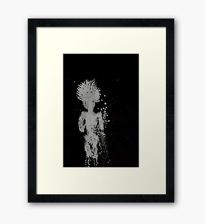 0065 - Brush and Ink - Gere Framed Print