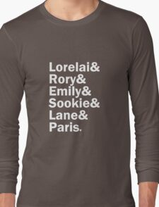 Gilmore Girls - Lorelai & Rory & Emily & Sookie & Paris | Black T-Shirt