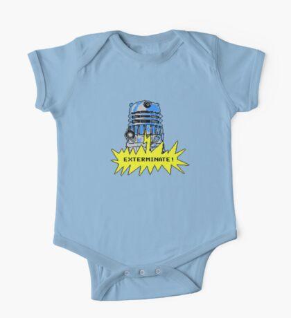 Time And Relative Pixels: Dalek One Piece - Short Sleeve