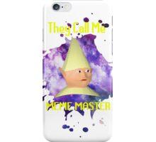 Meme Master (Slayer) iPhone Case/Skin