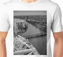 Houses Of Parliament From The London Eye Unisex T-Shirt