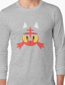 Pokemon Sun / Moon Litten New  Long Sleeve T-Shirt