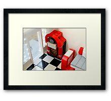 Lego Jukebox Framed Print