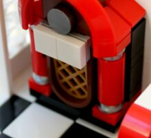 Lego Jukebox Sticker