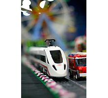 Lego Train Photographic Print