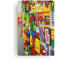 Wall of Lego Metal Print