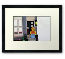 Lego Porch Framed Print